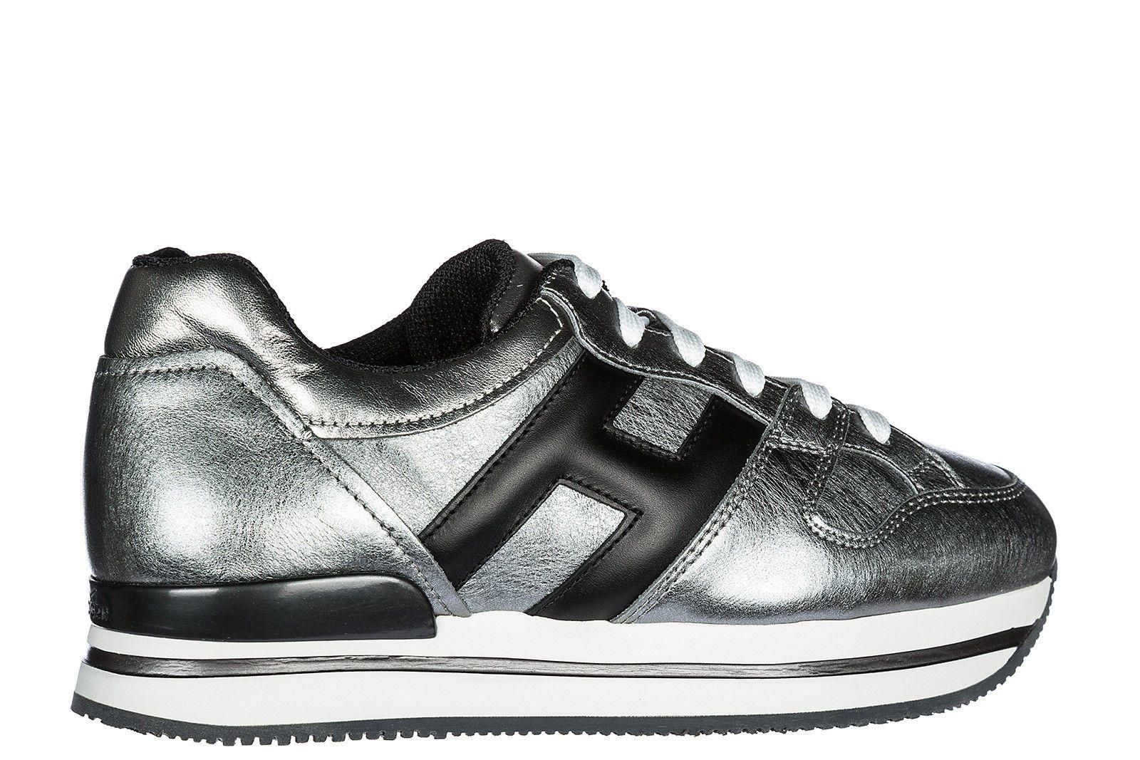 Chaussures De Sport Pour Les Femmes En Vente, Bleu Denim Foncé, Cuir Suède, 2017, 4.5 Hogan