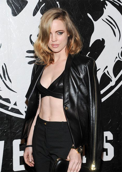 Melissa George-Versus Versace and Capsule Collection