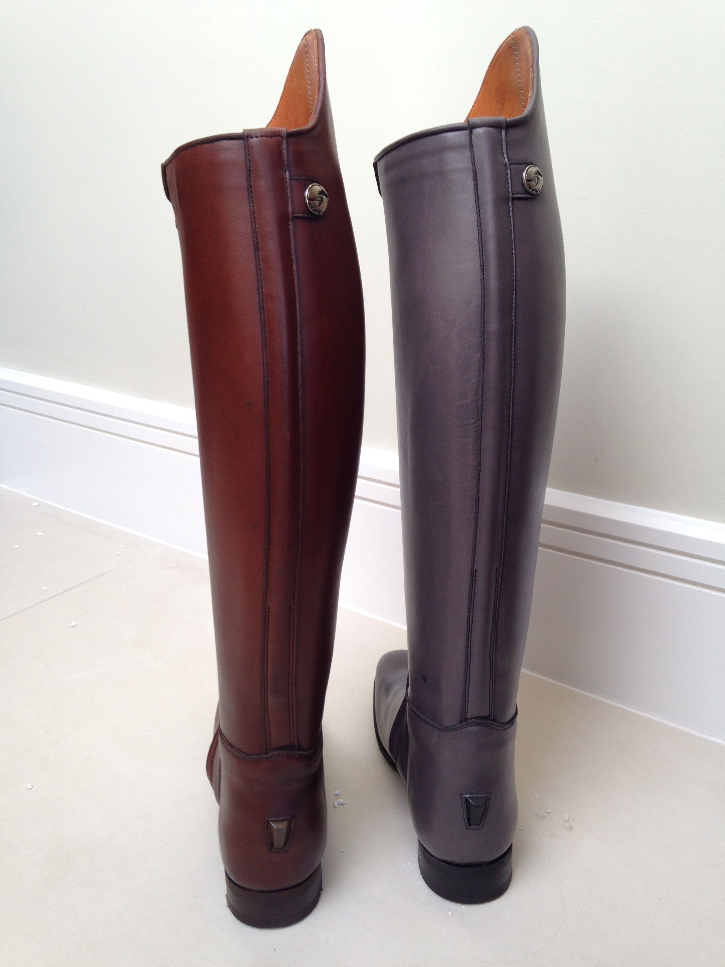 65f048cdd0339 Grey and Chestnut Brown with spur rests.Celeris boots