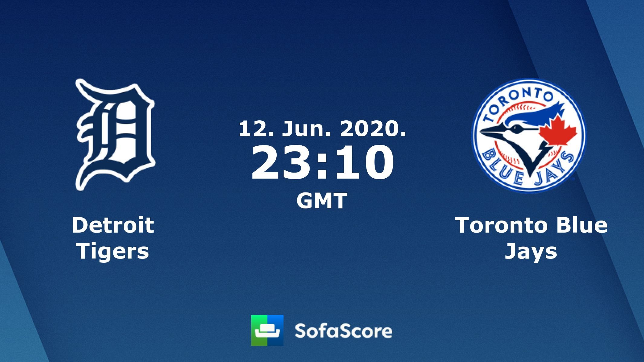 Toronto Blue Jays Detroit Tigers Sofascore In 2020 Toronto Blue Jays Detroit Tigers Blue Jays
