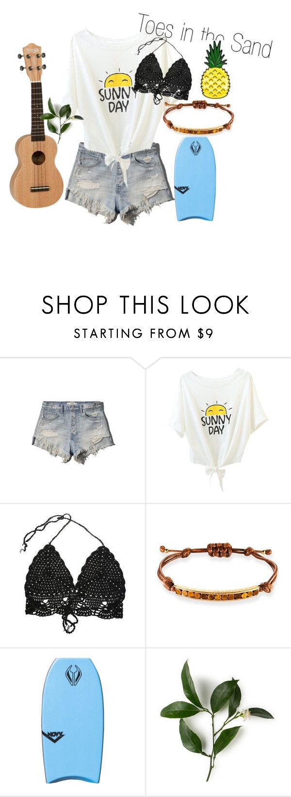 Beach Bum by gbdoodlebug on Polyvore featuring Abercrombie & Fitch, Ona Chan, women's clothing, women's fashion, women, female, woman, misses and juniors