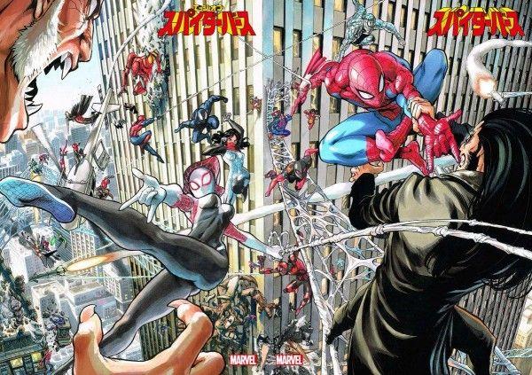 Spider-man Spider-gwen dessin de yusuke murata #Mangaka #OnePunchMan #Spiderman