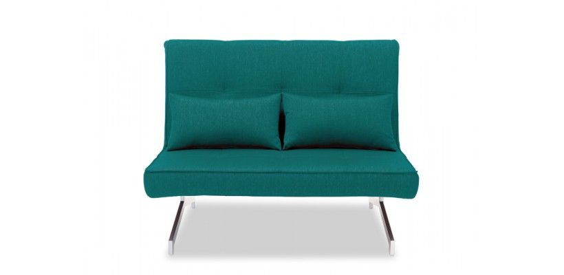 Convertible Sofa BZ Design Duo Blue Turquoise