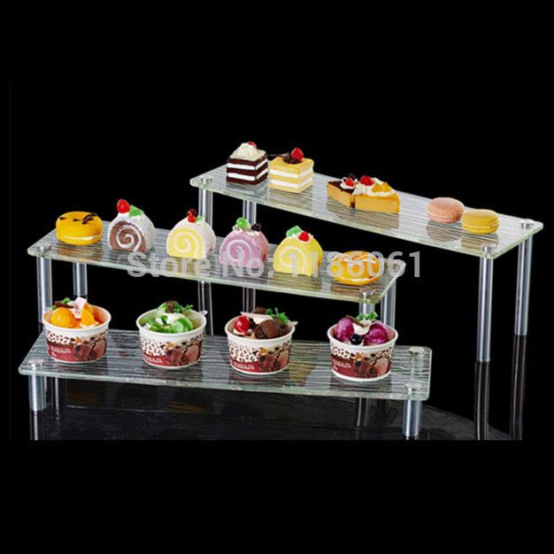 Buffet Display Stands Three Tier Acrylic Wedding Cake Plastic Stainless Buffet Cupcake 21