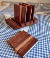 "Photo of Vicio on Instagram: ""Set of coasters #woodworking #xmasgifts""  Set of coaste…"