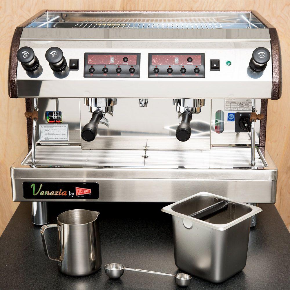 Cecilware ESP2220V Venezia II Two Group Espresso Machine