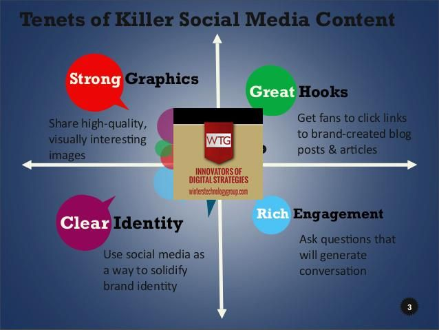 #GreatContent | #RichEngagement  | #StrongGraphics