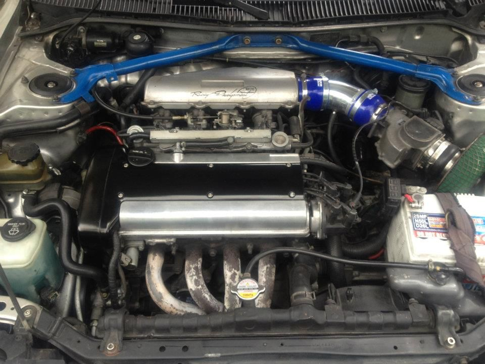 this is my engine.. 4age 20v ST..not much of a mod, only