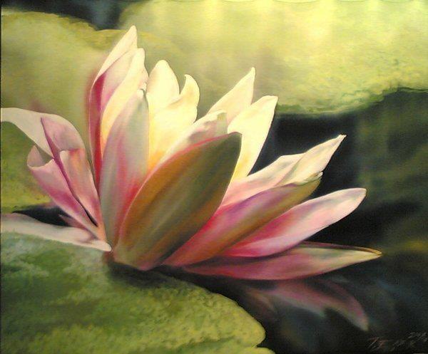 Artist elena tener painting on silk silk painting flowers artist elena tener painting on silk mightylinksfo