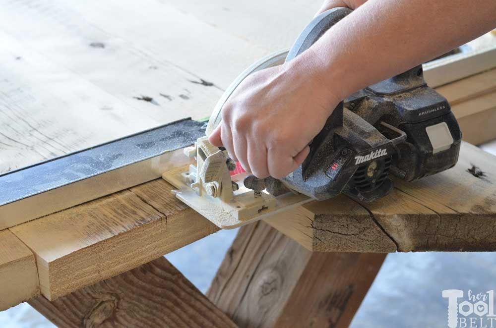 Super Chunky X Table Plans Table plans, Farmhouse table
