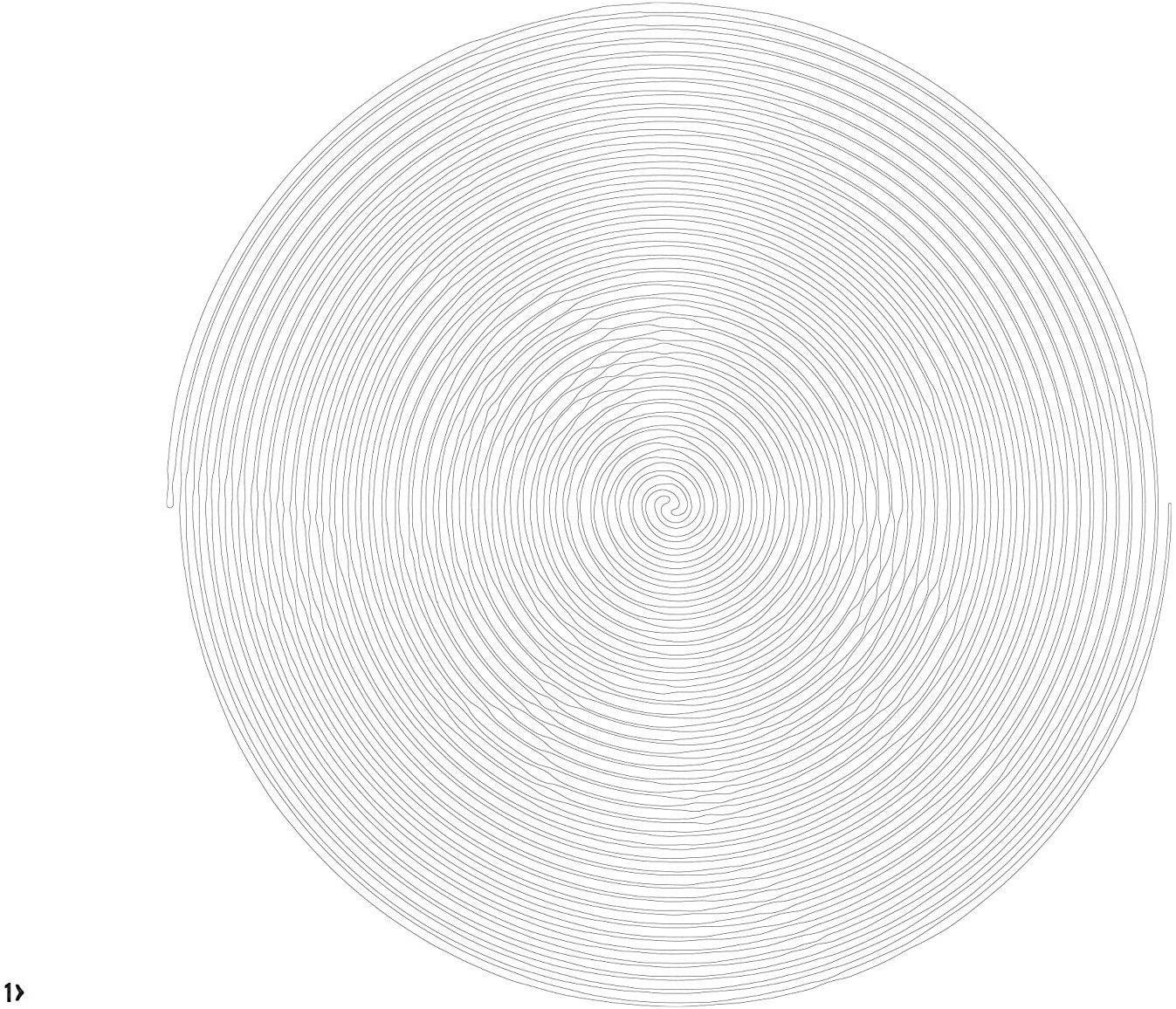 Spiroglyphics Spiral Art Spiral Drawing Symmetry Art
