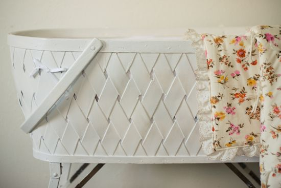 Strawberry Chic Vintage Bassinet Bedding Can T Believe I Found A