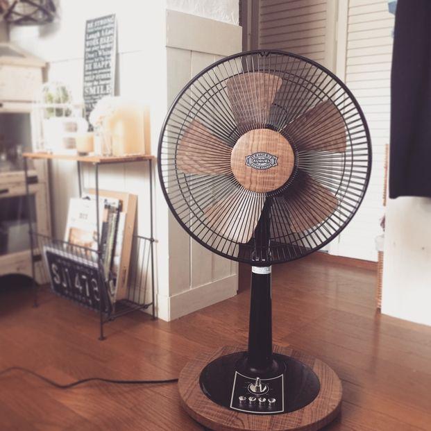 残りの夏もオシャレに 扇風機 エアコンリメイクアイデア集 リビング リメイクシート リメイクシート せんめんじょ