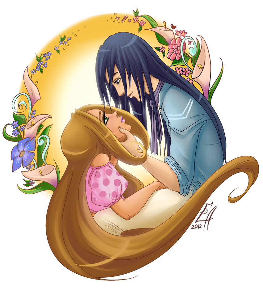 Флора и гелия картинки любовь