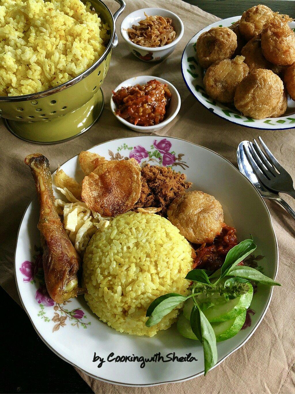 Nasi Kuning Rice Cooker : kuning, cooker, Kuning, Cooker, Resep, Masakan, Malaysia,, Indonesia,, Memasak