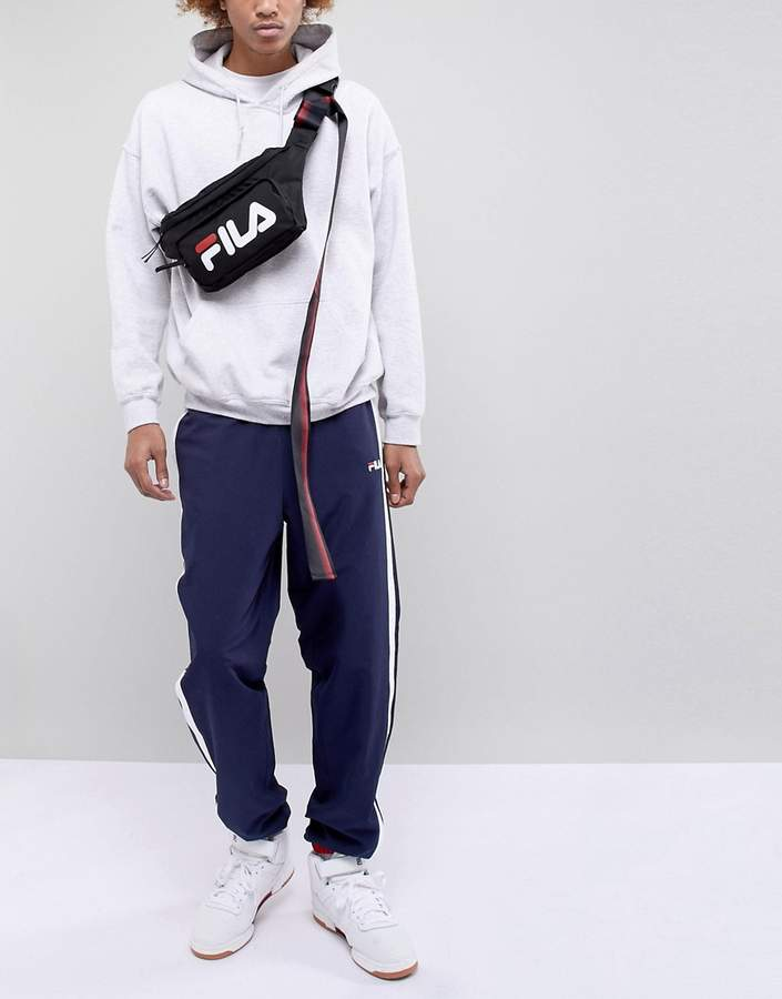 D-Antidote x Fila Oversized Fanny Pack With Taping 99508cc7fa465