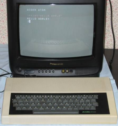 Acorn Atom Retro arcade machine, Atom, Acorn