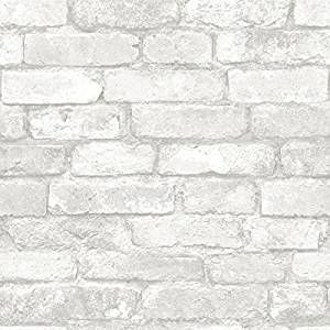 Pin By Korrie O Neill On For The Home Brick Effect Wallpaper Removable Brick Wallpaper White Brick