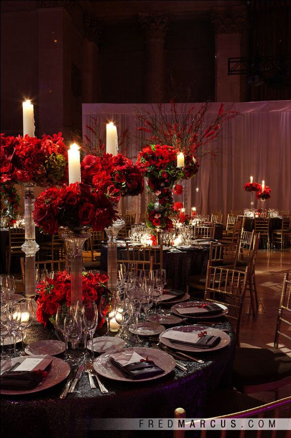 15 Unique Ways to Use Red Roses in Your Wedding Wedding