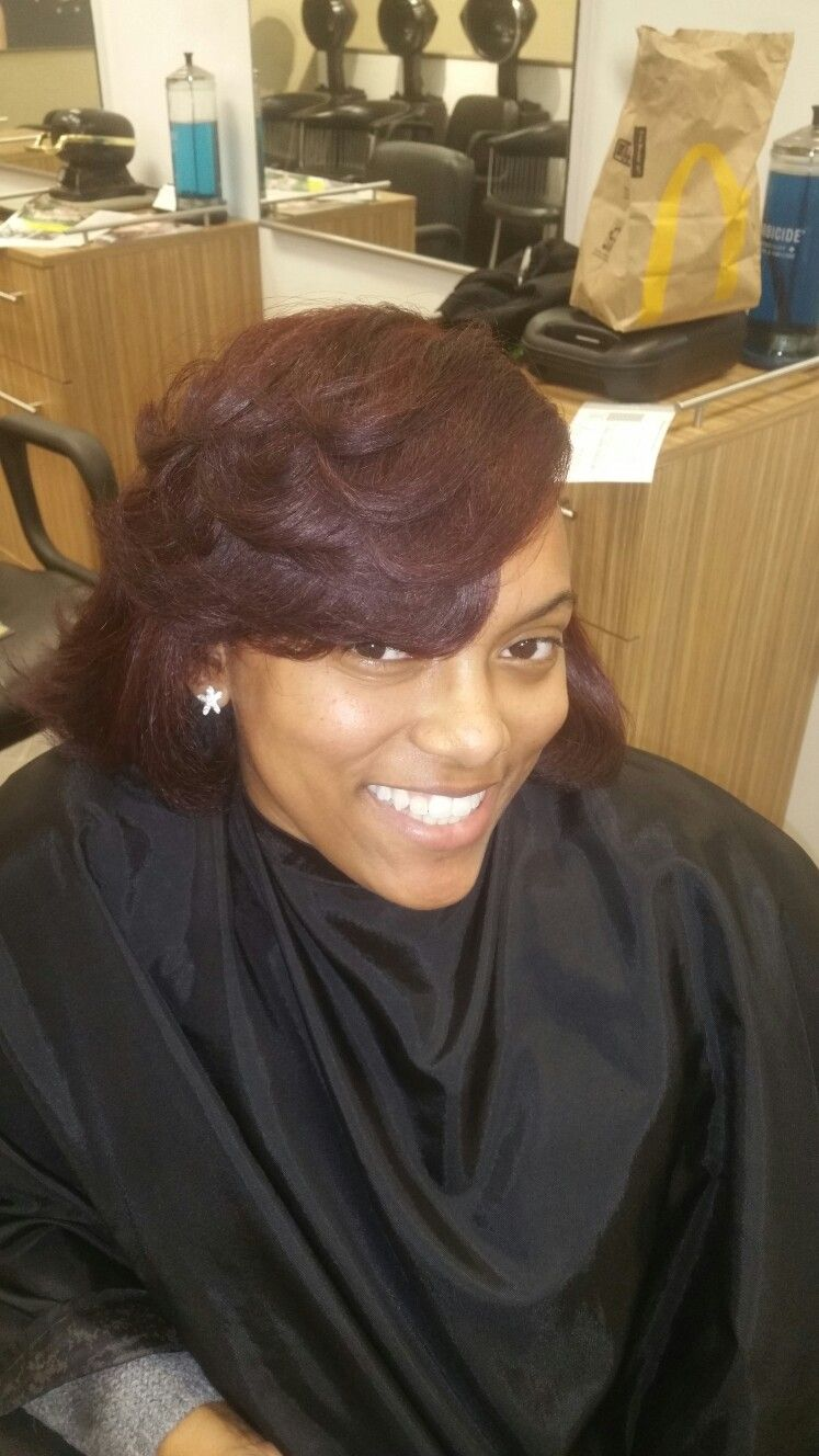 Red head! Cut and color
