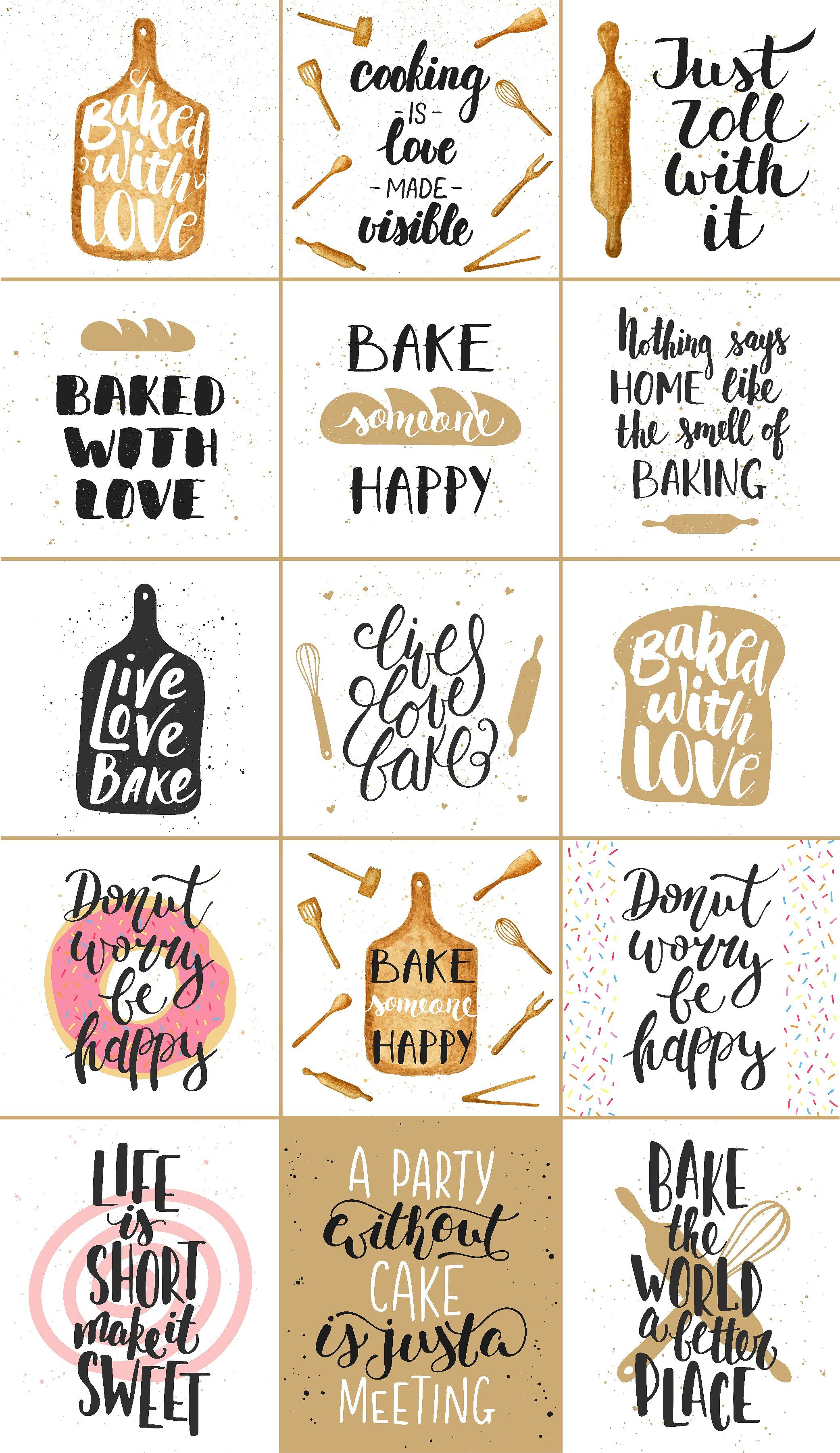 Bakery Quotes And Posters Bakery Quotes Baking Quotes Bakery Packaging
