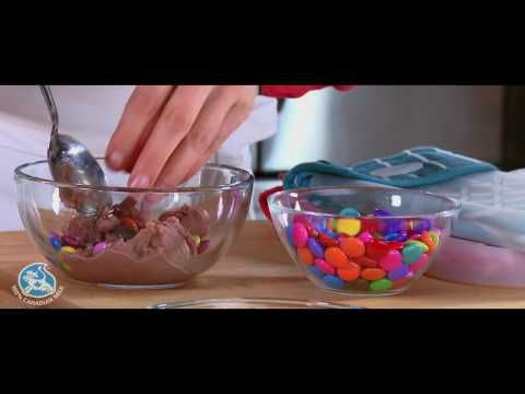 Making homemade ice cream without an ice cream maker.   Embed code Share    Making ice cream has never been so easy, and as shown in this video, all it takes is 1 ingredient! It's also a great activity to do with your kids. They'll want to do it again and again.