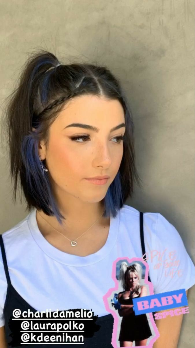 Pin By Samimugica On Charli Grace D Amelio In 2020 Braided Hairstyles Hairstyle Hair Styles