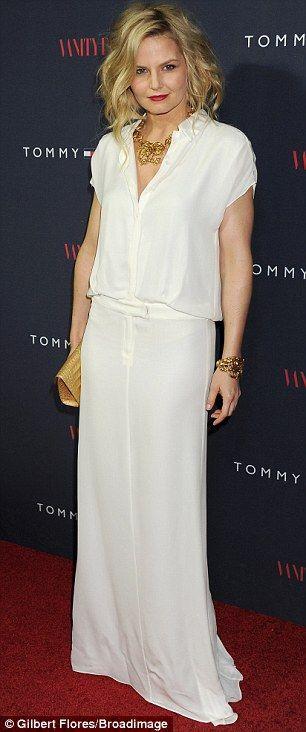 Jennifer Morrison in a Tommy Hilfiger gown
