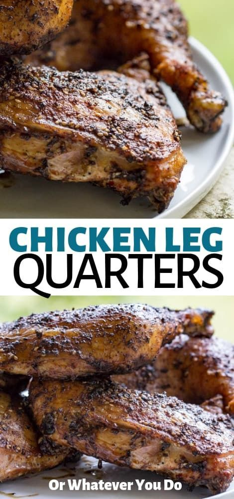 Grilled Chicken Leg Quarters | Recipe | Grilled chicken ...