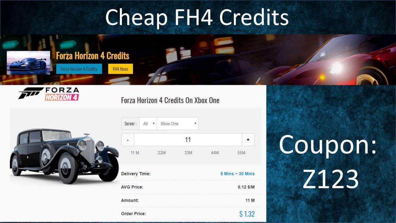 Forza Horizon 4 Credits for Sale at U4GM 2019 - Cheap FH4