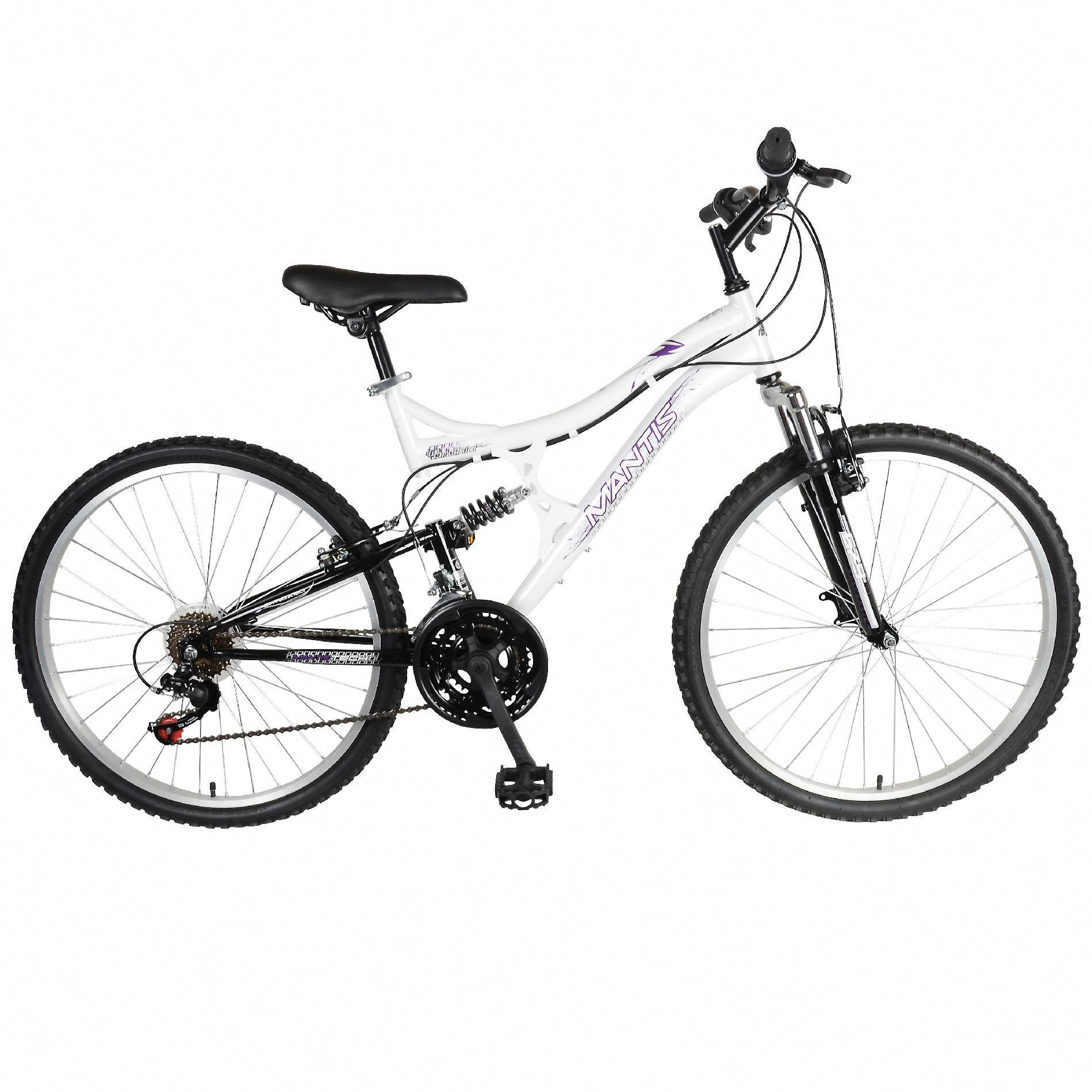 818b6318e68 Mantis Orchid 26 Full Suspension Bicycle, White #bestbikeproducts ...