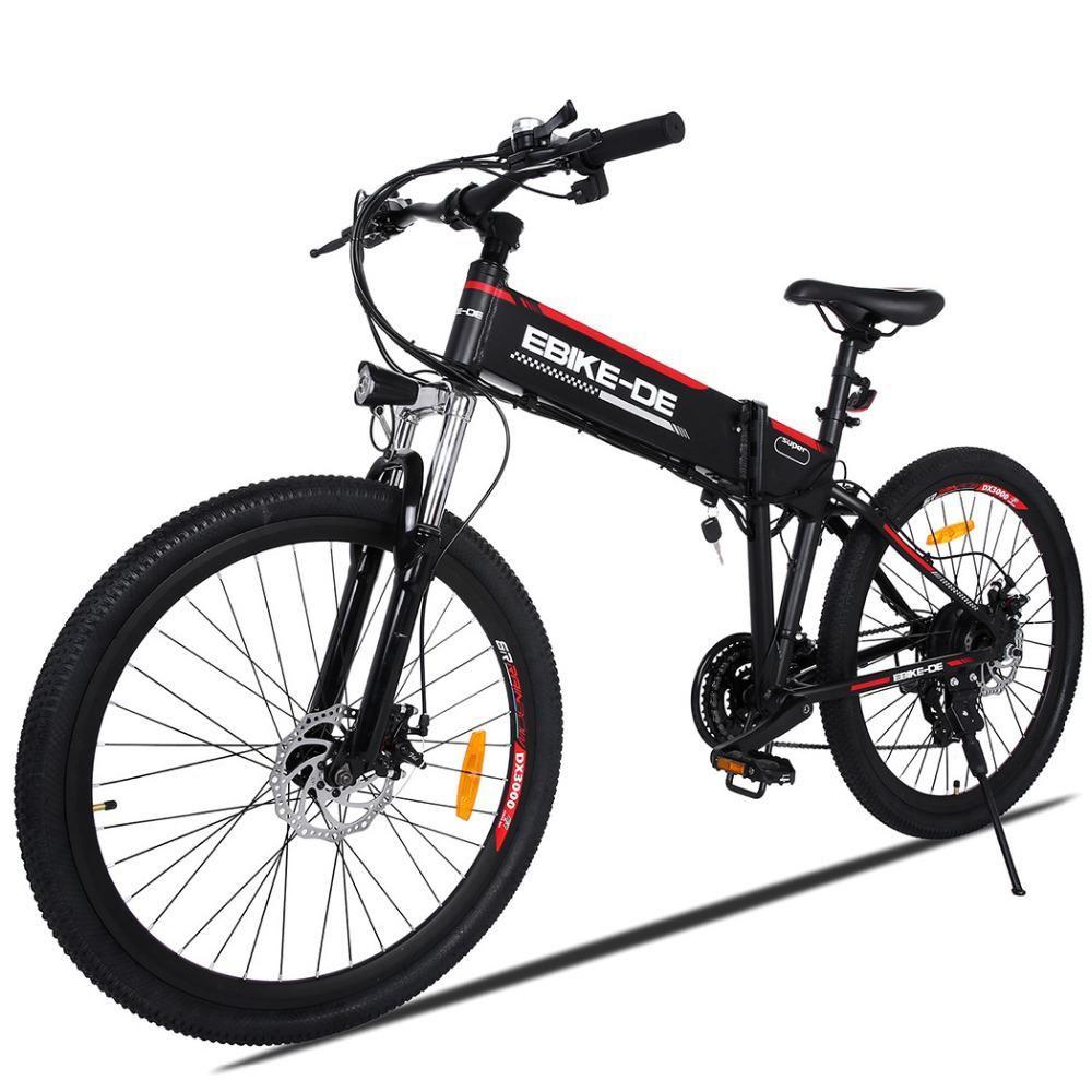 Ancheer New 26inch Electric Bike Bicycle 250w Ebike High Speed