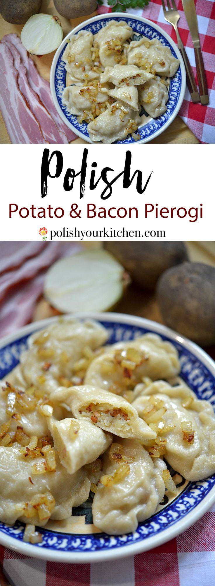 Authentic Polish Potato and Bacon Pierogi