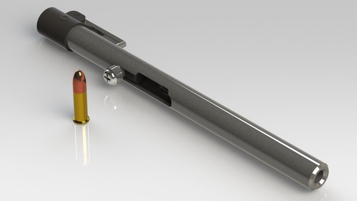a simple lr pen gun i designed for a friend designed to be a  the pen is mightier than the sword essay 22 caliber single shot pen gun much mightier than the sword