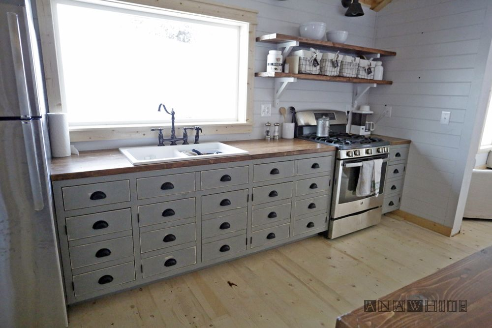 Best Diy Apothecary Style Kitchen Cabinets Ana White Ana 640 x 480