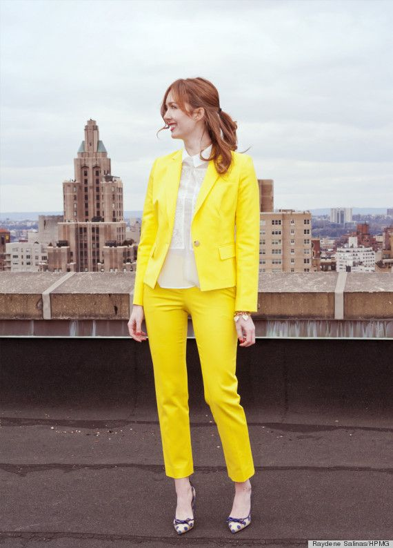 yellow pants for women - Pi Pants
