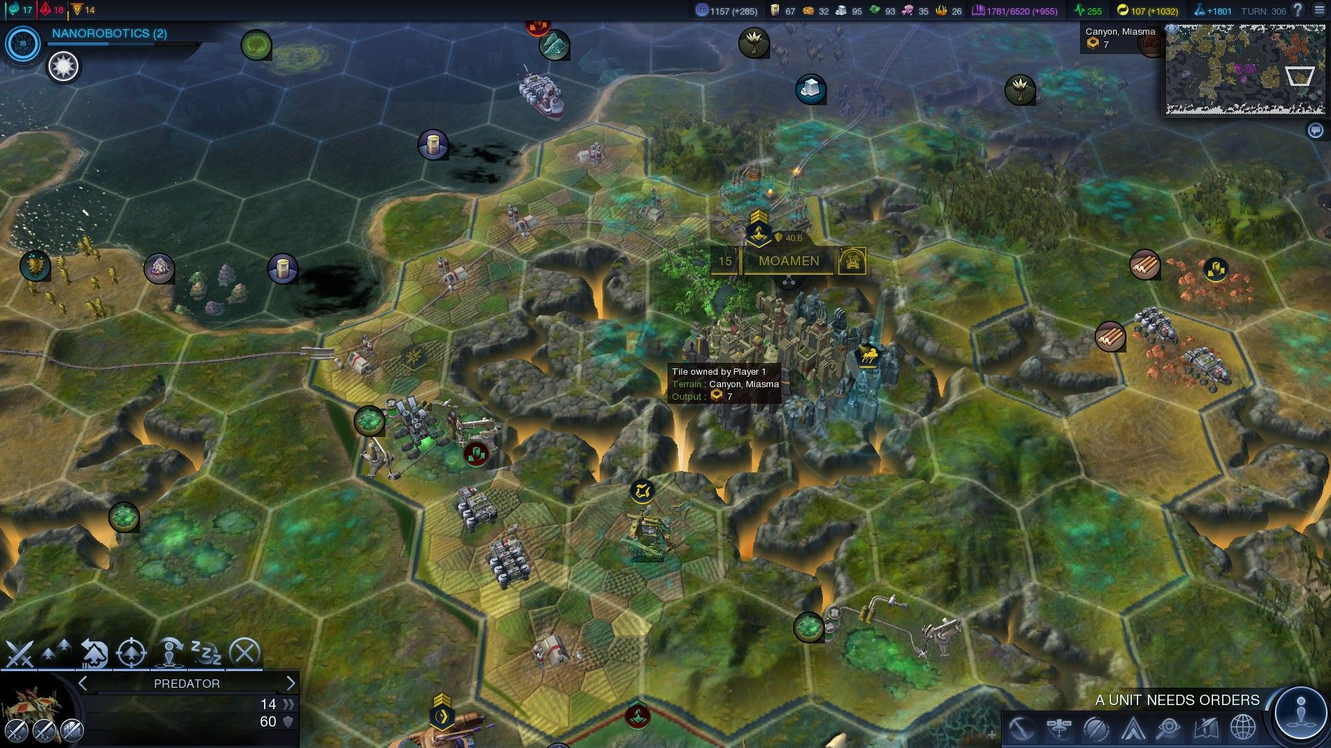 The Petra wonder of beyond earth CivilizationBeyondEarth gaming