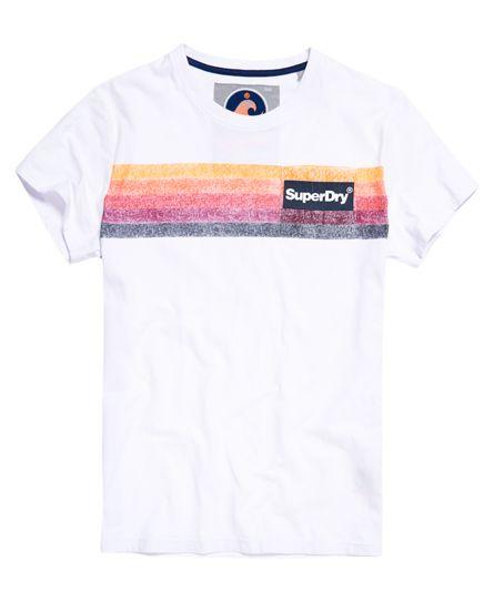 Superdry Camiseta con bolsillo 77 Surf Blanco  60fee840a69