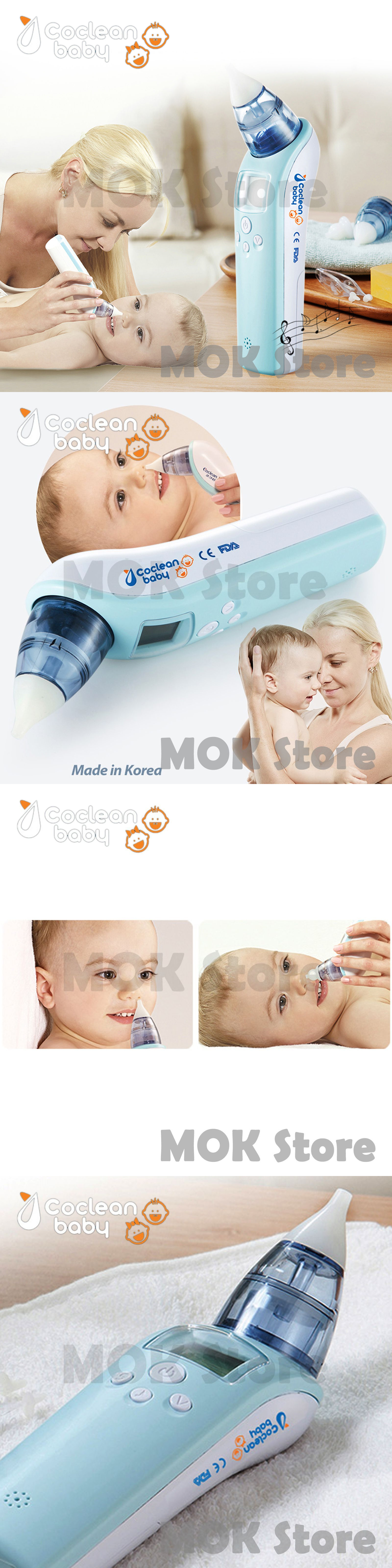 Nasal Strips: Welbutech Coclean Baby Cob-200N Nasal Aspirator Suction Cleaner Melody W -> BUY IT NOW ONLY: $69.22 on eBay!