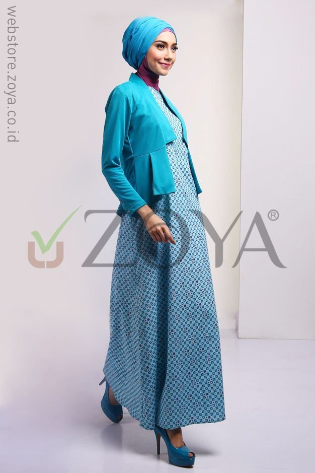 Koleksi Busana Muslim Zoya Dress Terbaru Model Busana Pinterest
