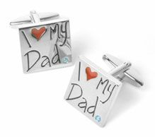 Engraved Groomsmen Gifts | I Do Engravables. Personlize Cuff links great gift for Your Dad