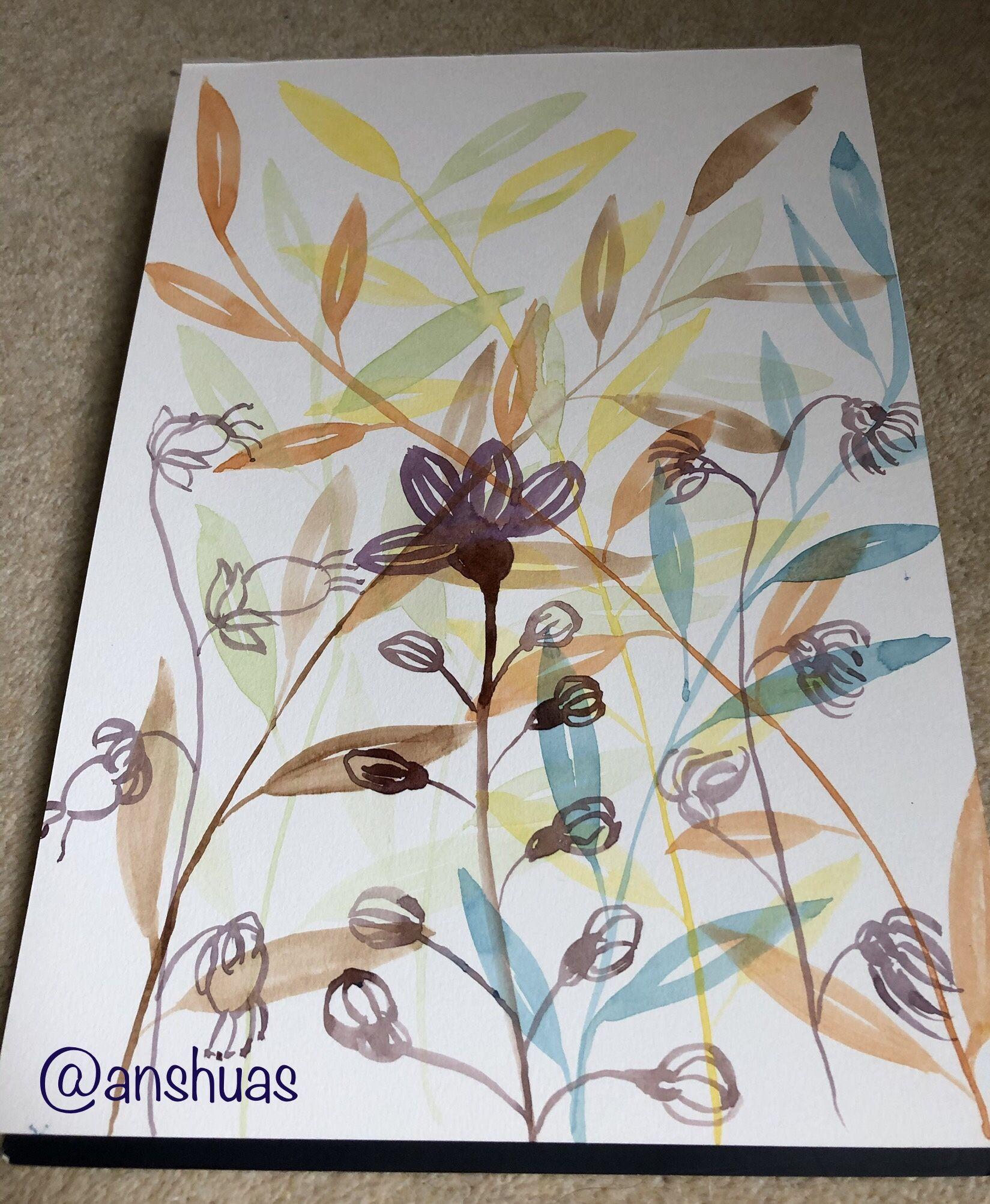 Imagination #ArtTherapy #Lovetopaint #Design #Watercolor #HappySunday – World Through Lenses