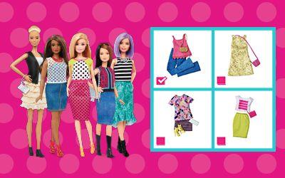 Monteo seu time de estilo! | Barbie
