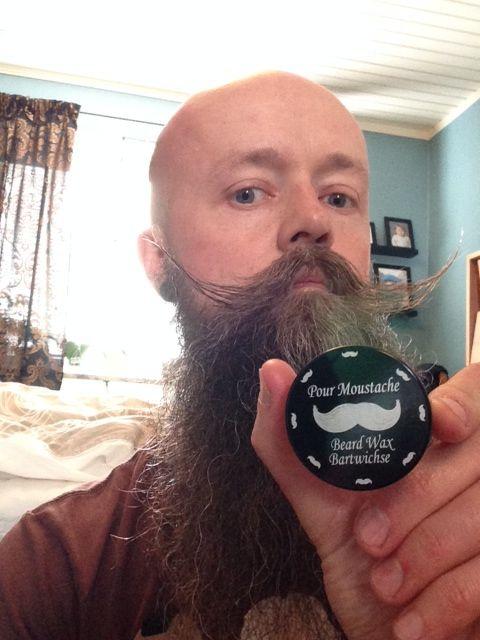 Ett väl fungerande mustaschvax! | Männer bart