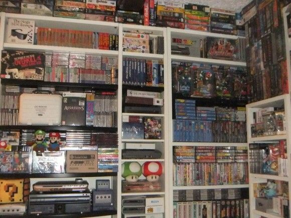 30 year video game collection
