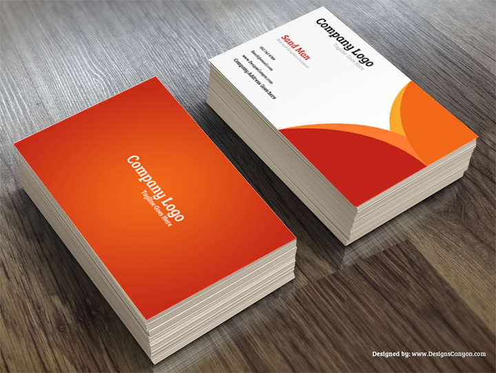 Creative PSD Business Card Template Free Download Designs Canyon - Free templates business cards