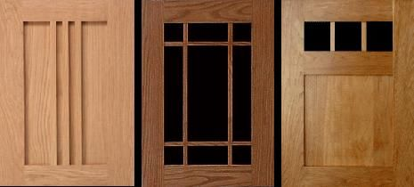 Arts Crafts Cabinet Door Styles Reflect The Patterns Used In Period Furniture And Window Sashes