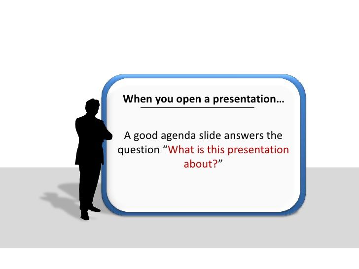 5 Creative Presentation Agenda Ideas http\/\/wwwslidesharenet - agenda
