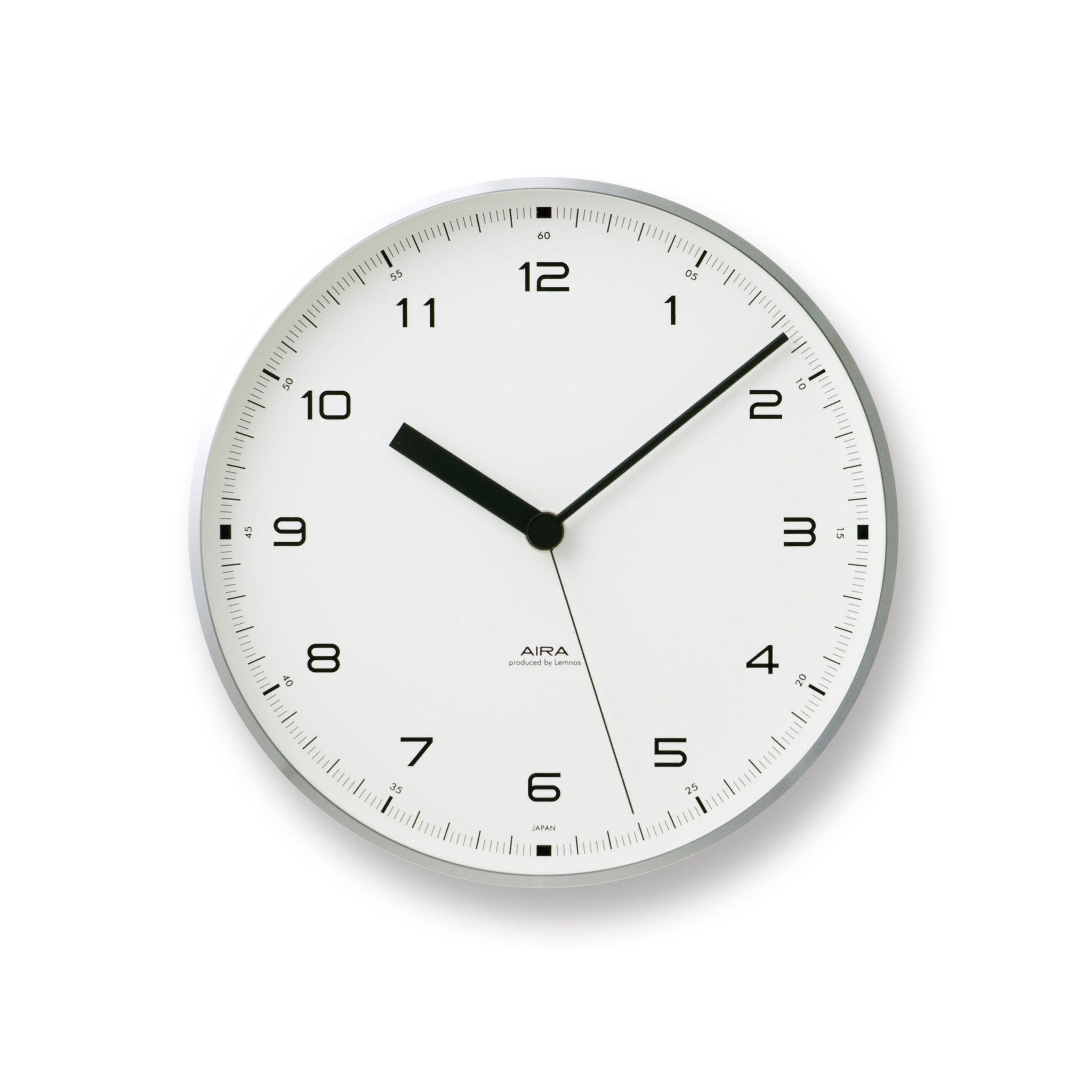 Urban wall clock in aluminum design by lemnos wall clocks urban wall clock in aluminum design by lemnos amipublicfo Images