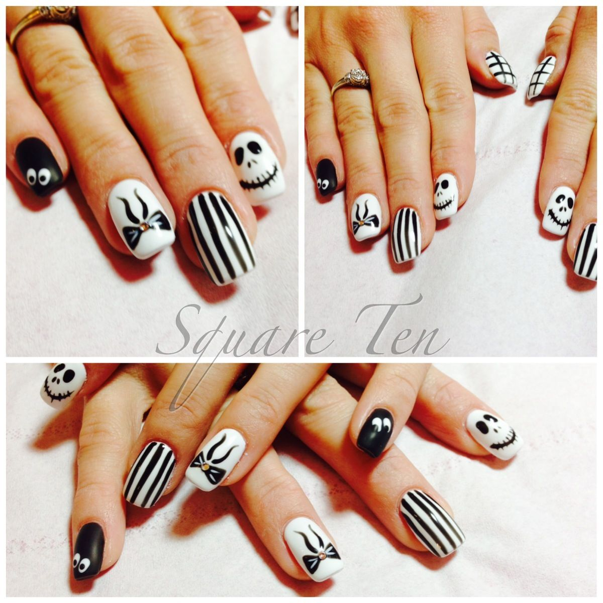 Halloween nails done by me! | Halloween nails, How to do ...